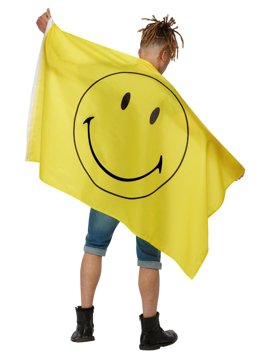 Smiley Large Flag Yellow