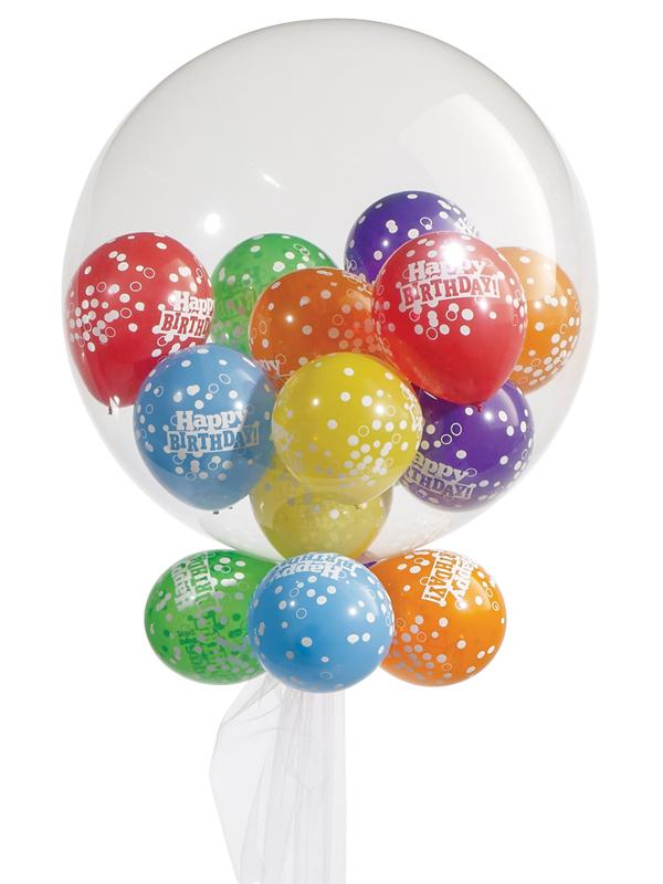 Gumball Deco Bubble Balloon Bouquet