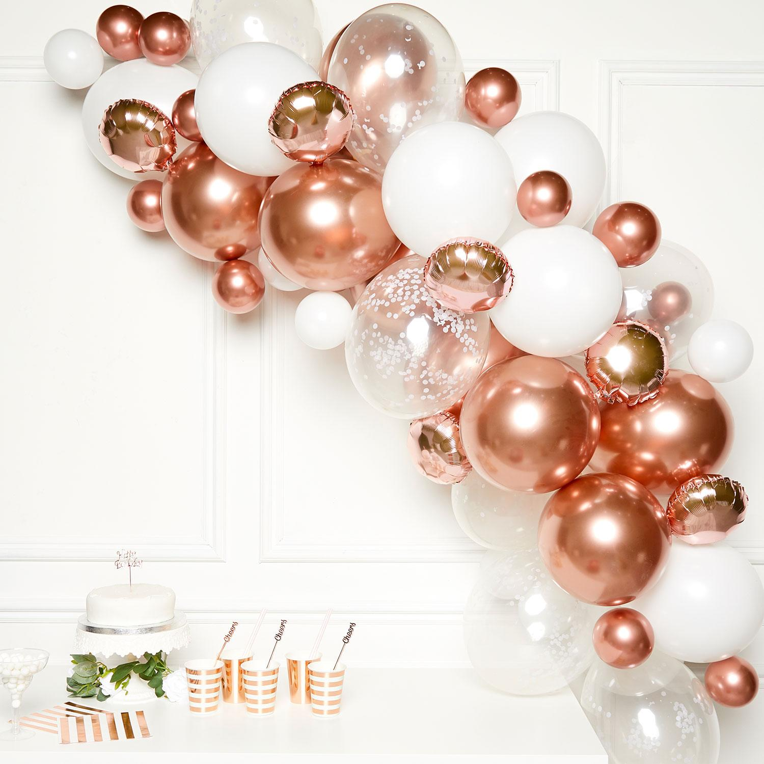 Rose Gold DIY Garland Balloon Kit