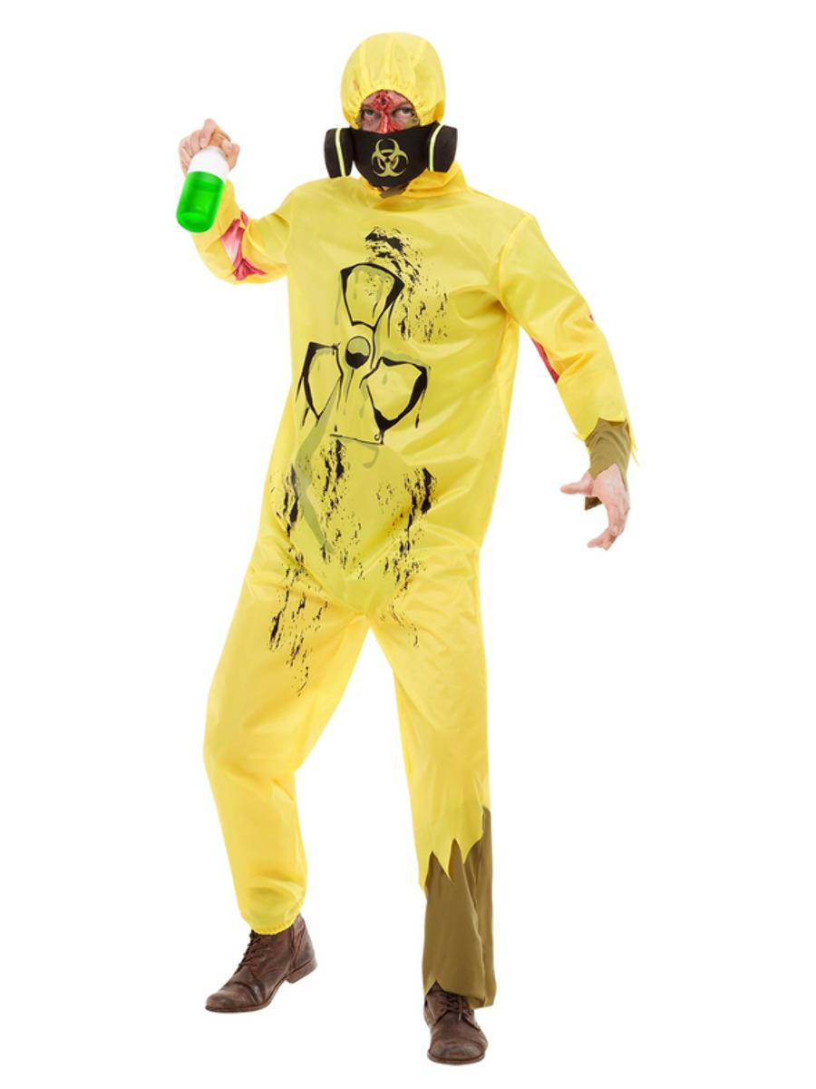 Burnt Bio Hazard Suit, Yellow