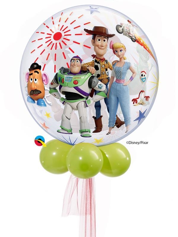 Character Bubble Balloon Bouquet - Various Styles