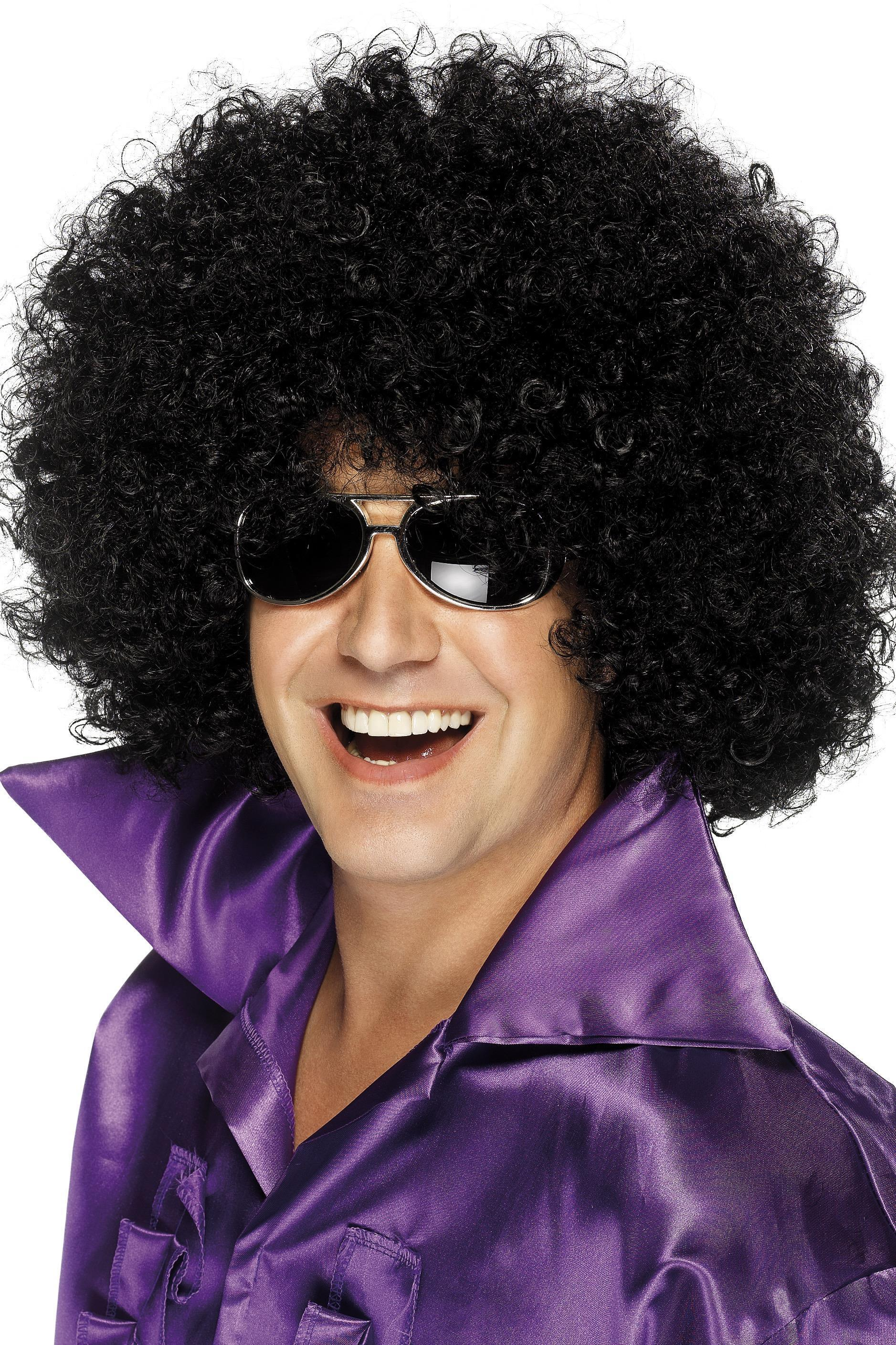 70s Mega Huge Afro Wig Black