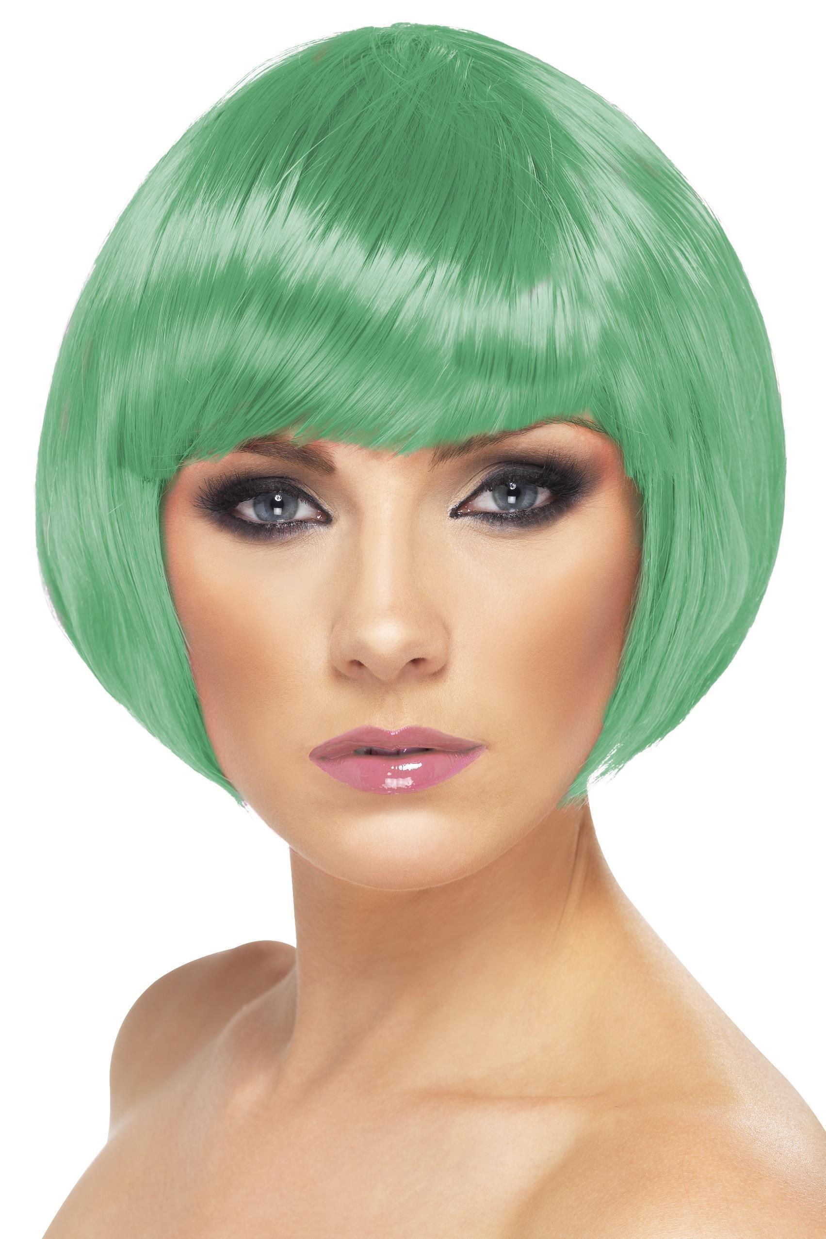 Babe Wig Dark Green