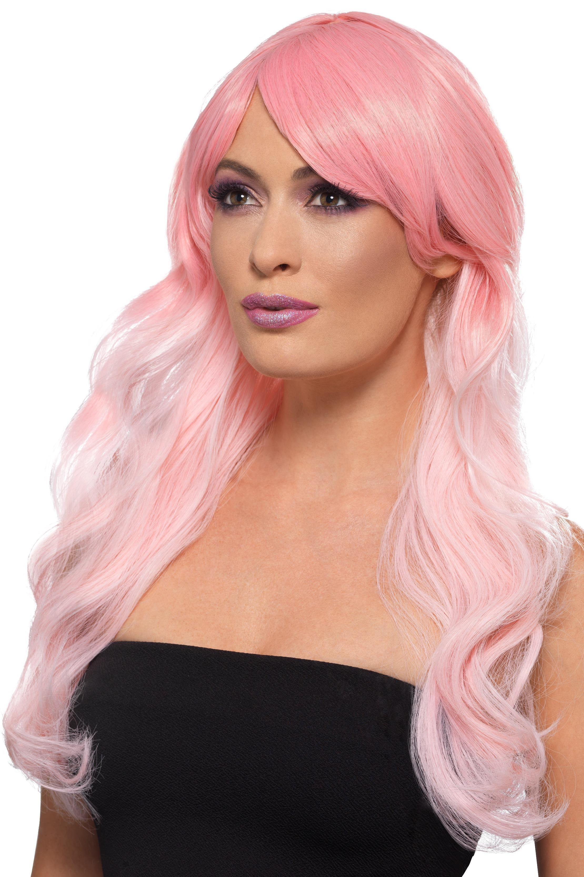 Fashion Ombre Wig Pink