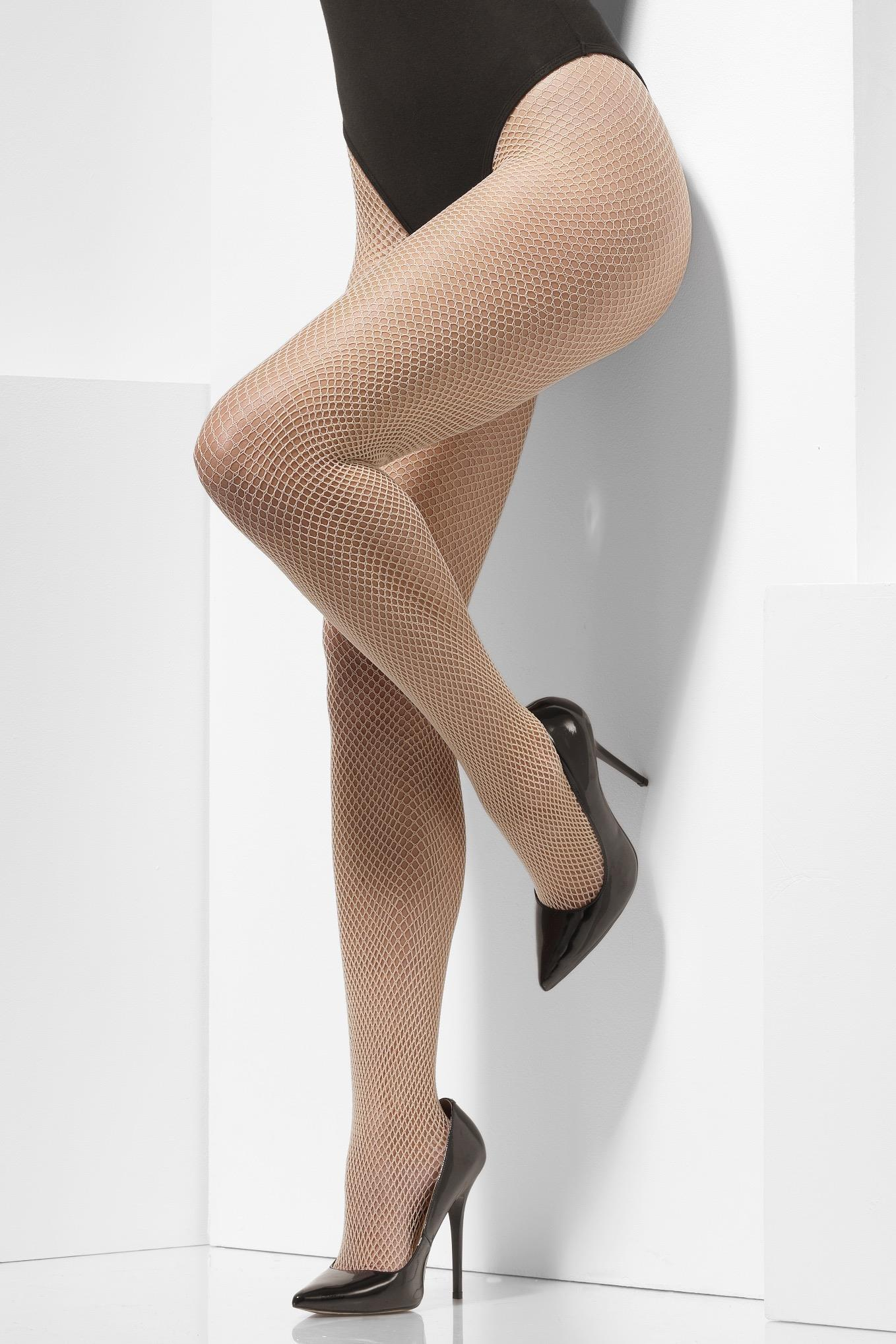 Fishnet Tights Nude
