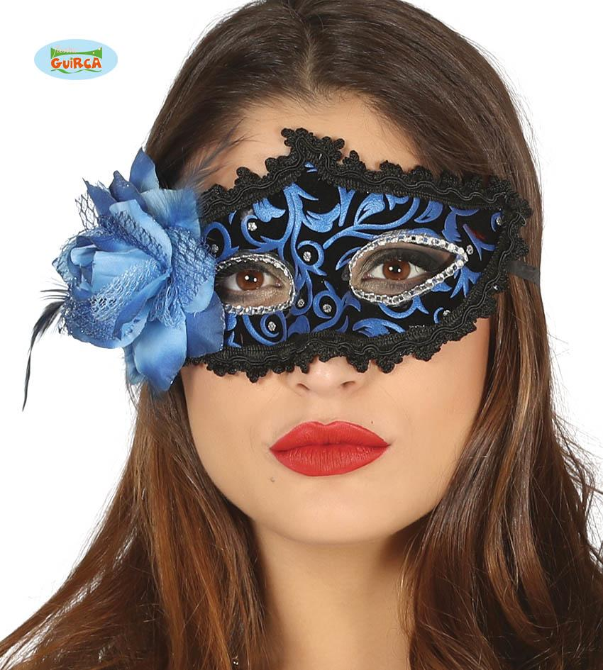 Black & Blue Eye Mask