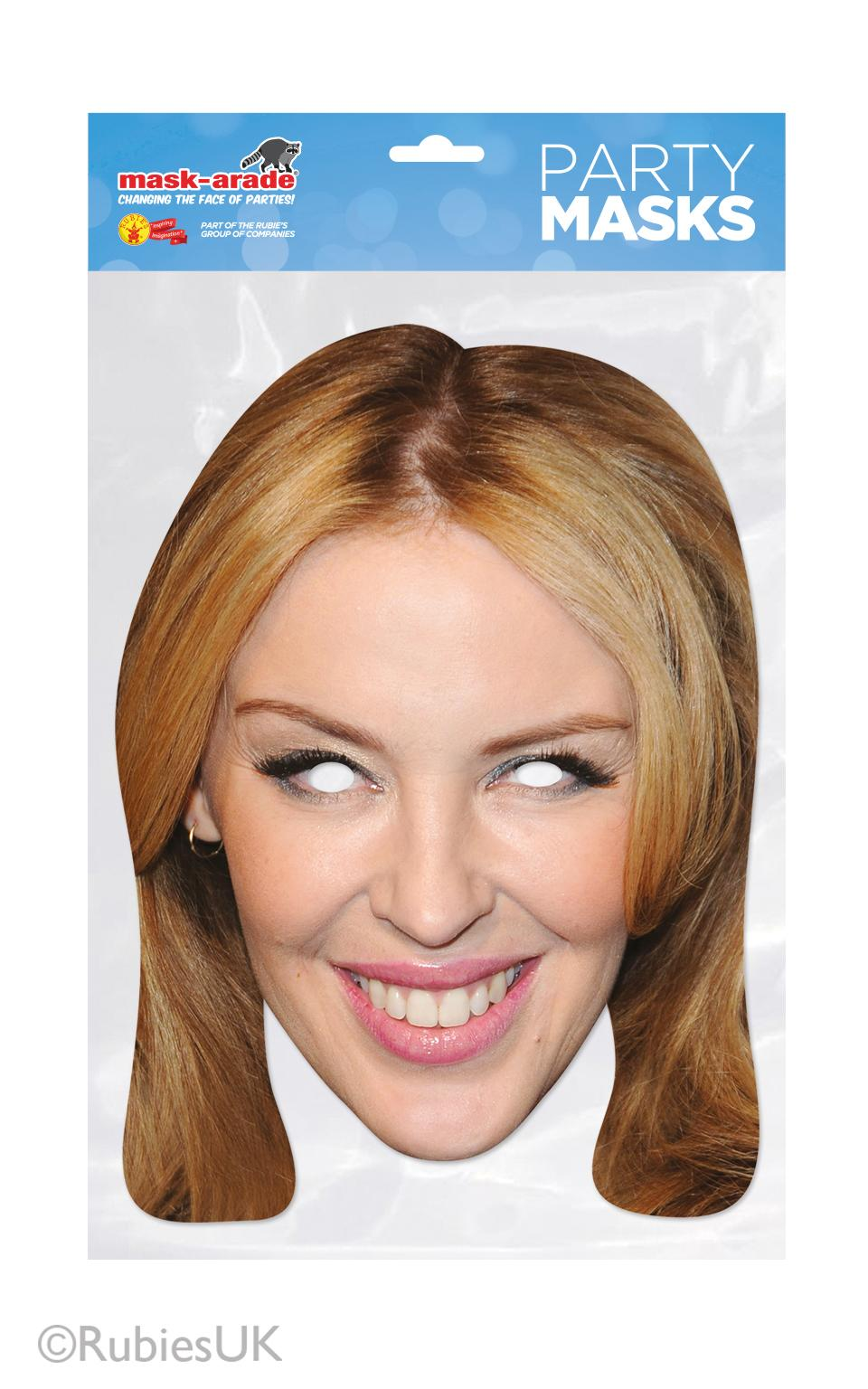 Kylie Minogue Mask
