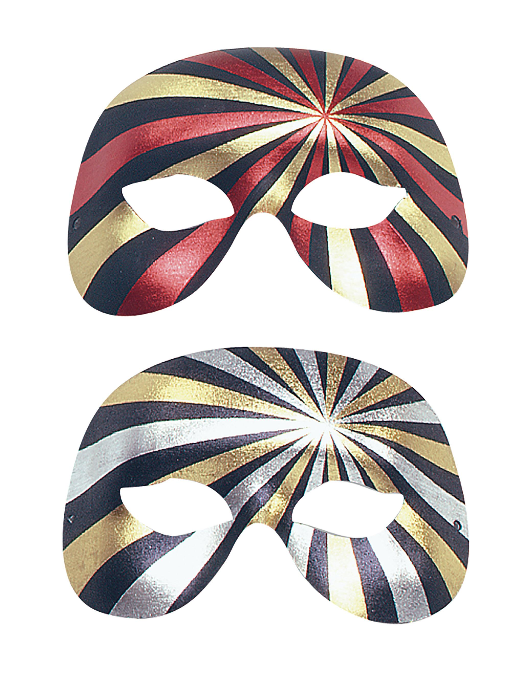 Metallic Psycho Eye Mask