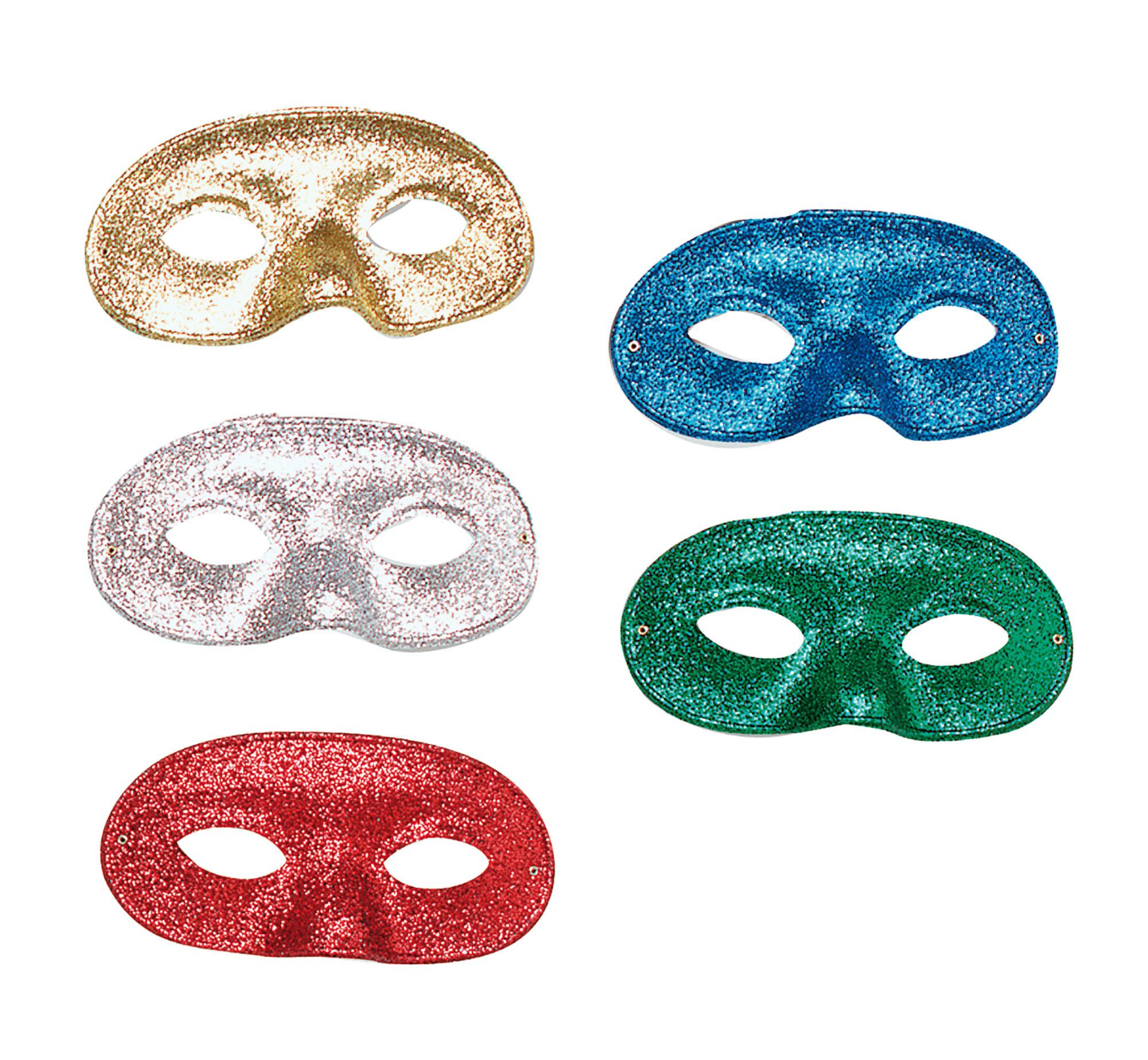 Glitter Domino Eye Mask