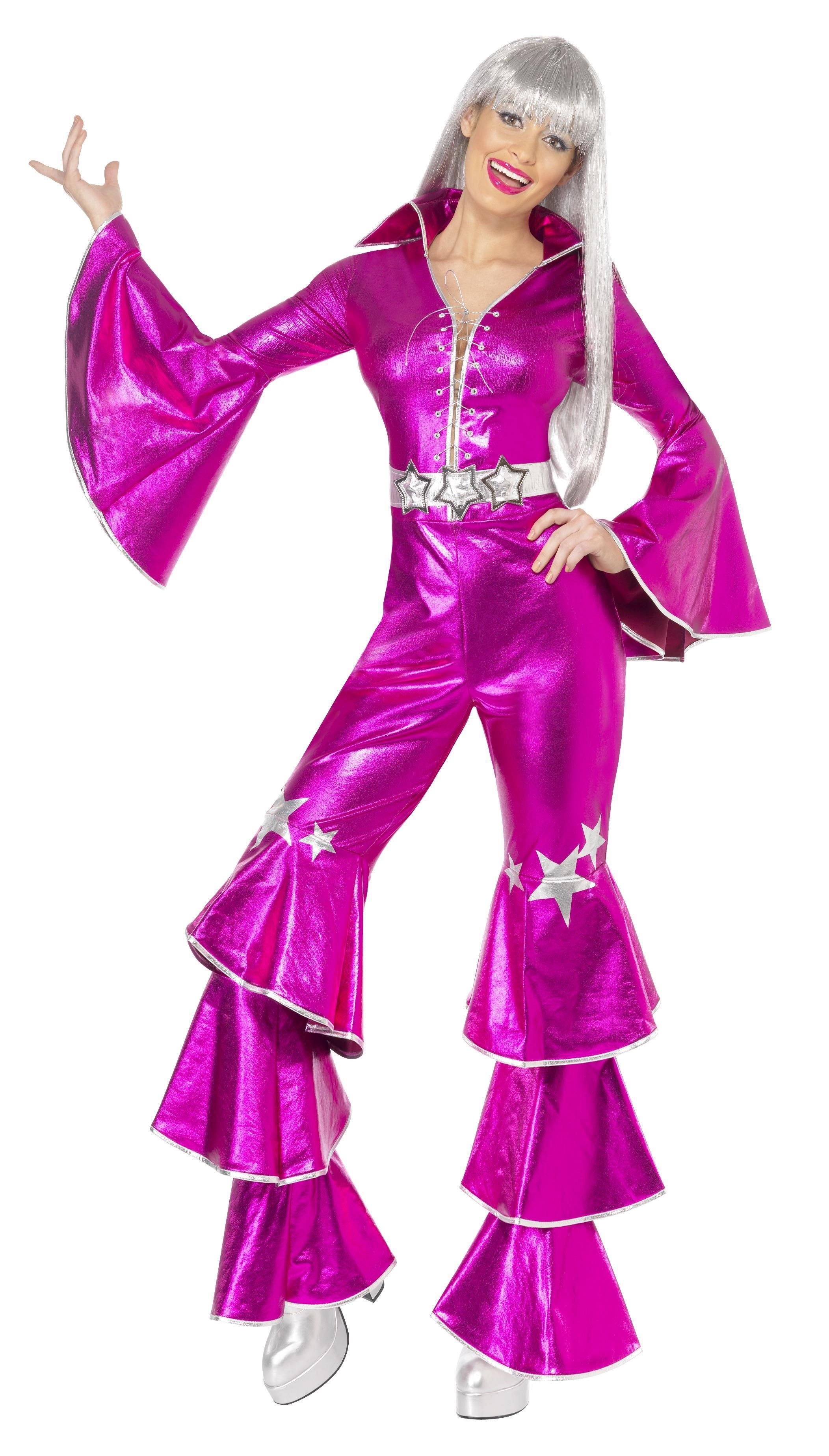 70s Dancing Dream Costume Pink