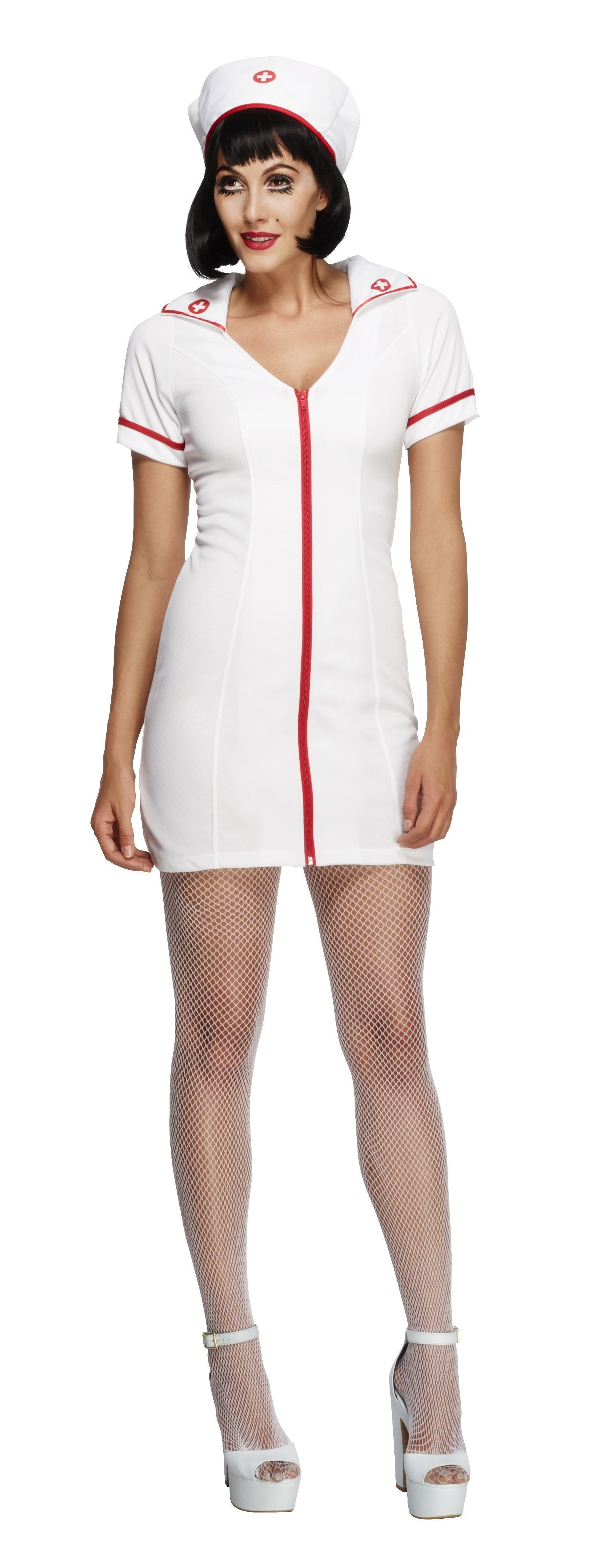 Fever No Nonsense Nurse Costume White