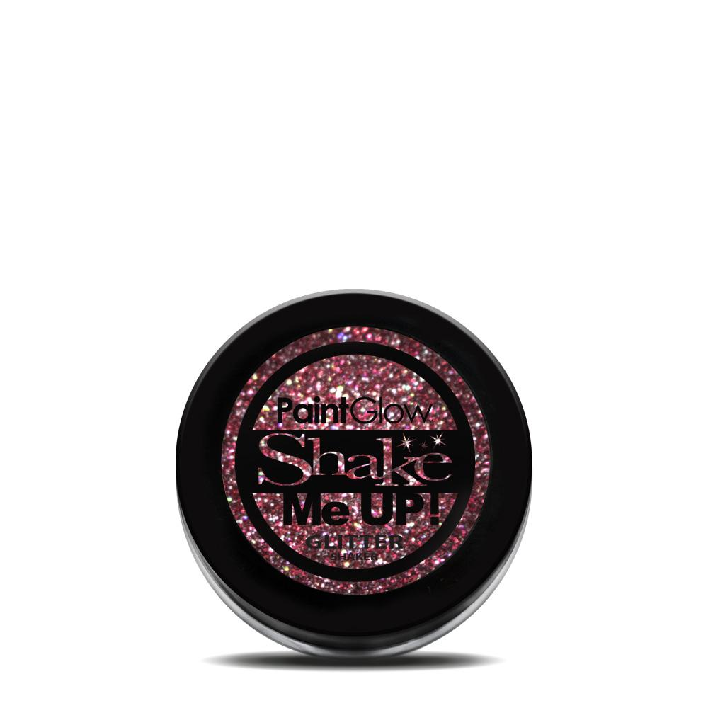 Holographic Glitter Shaker Red
