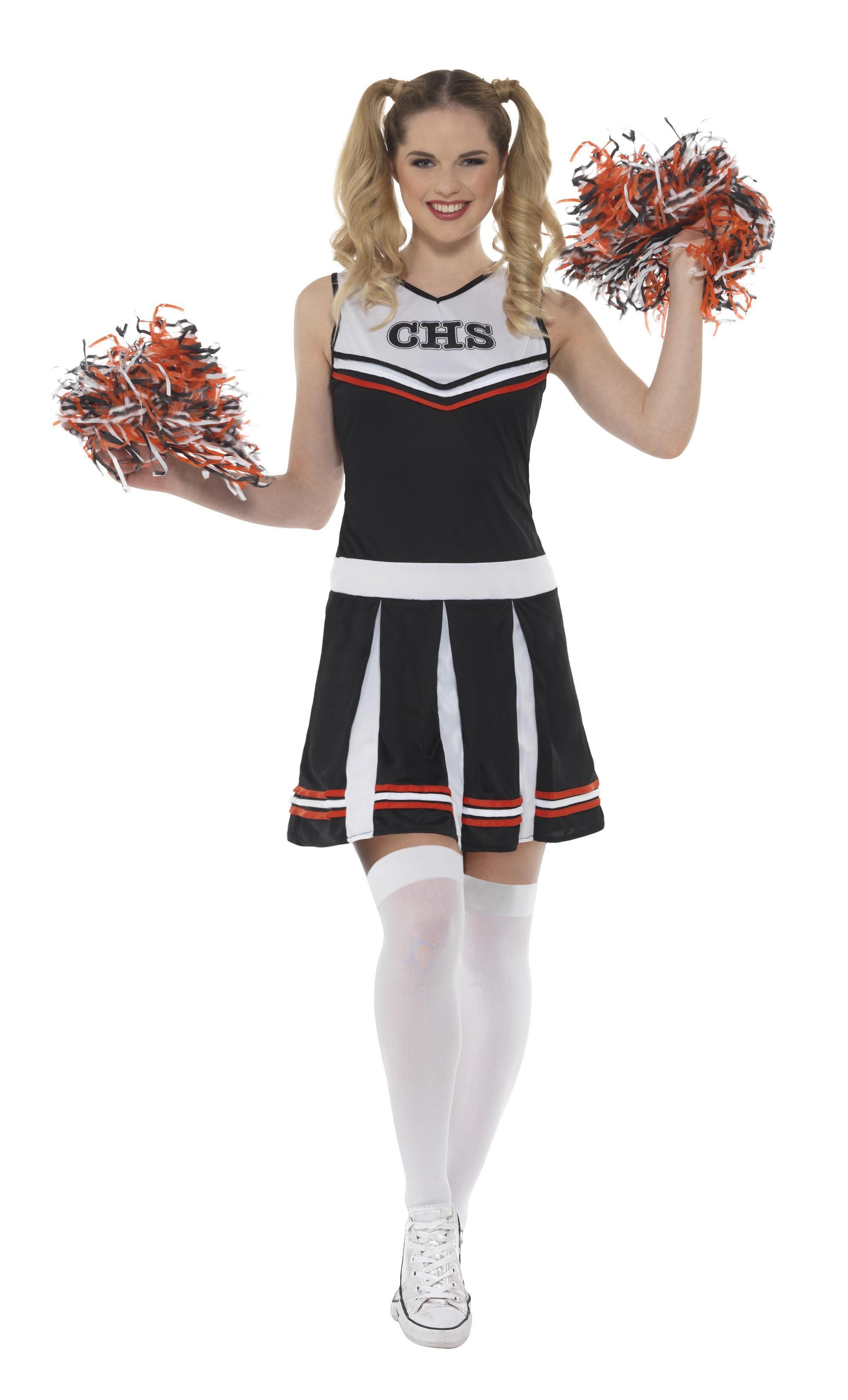 Cheerleader Costume Black