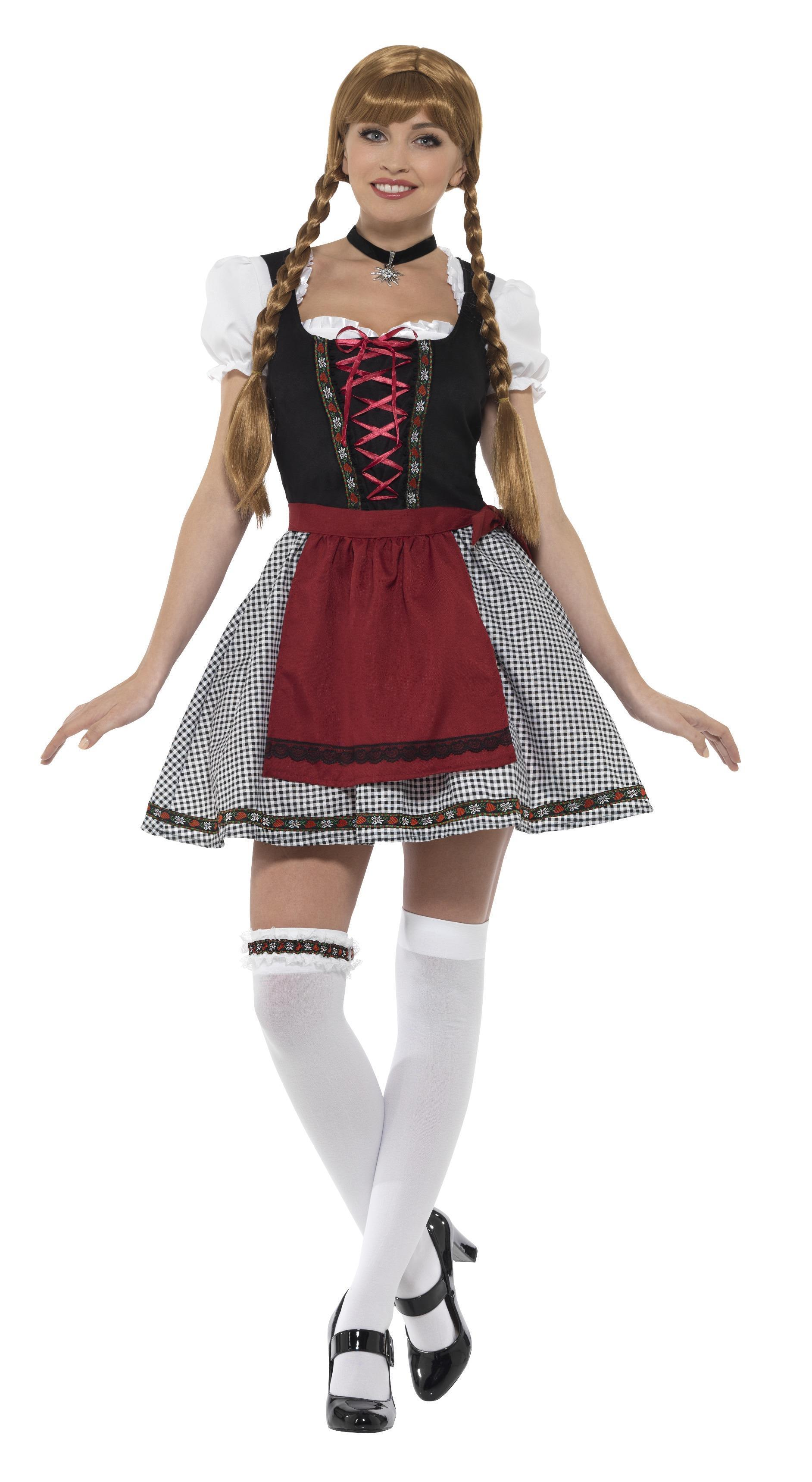 Flirty Fraulein Bavarian Costume Black