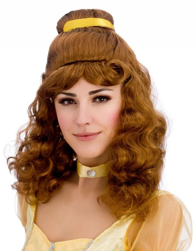 Beautiful Princess Belle Wig Auburn