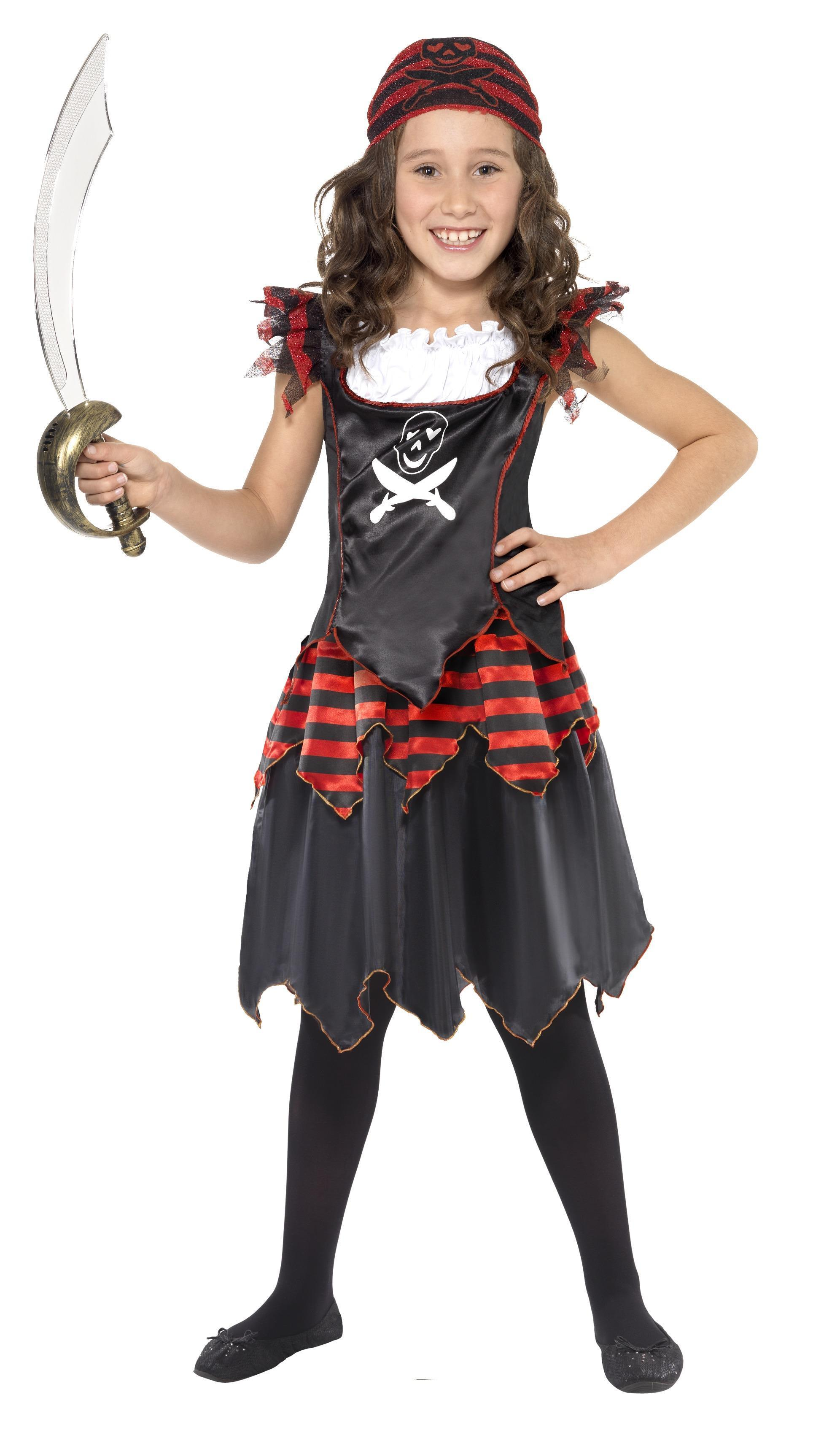 Kids Pirate Skull & Crossbones Costume