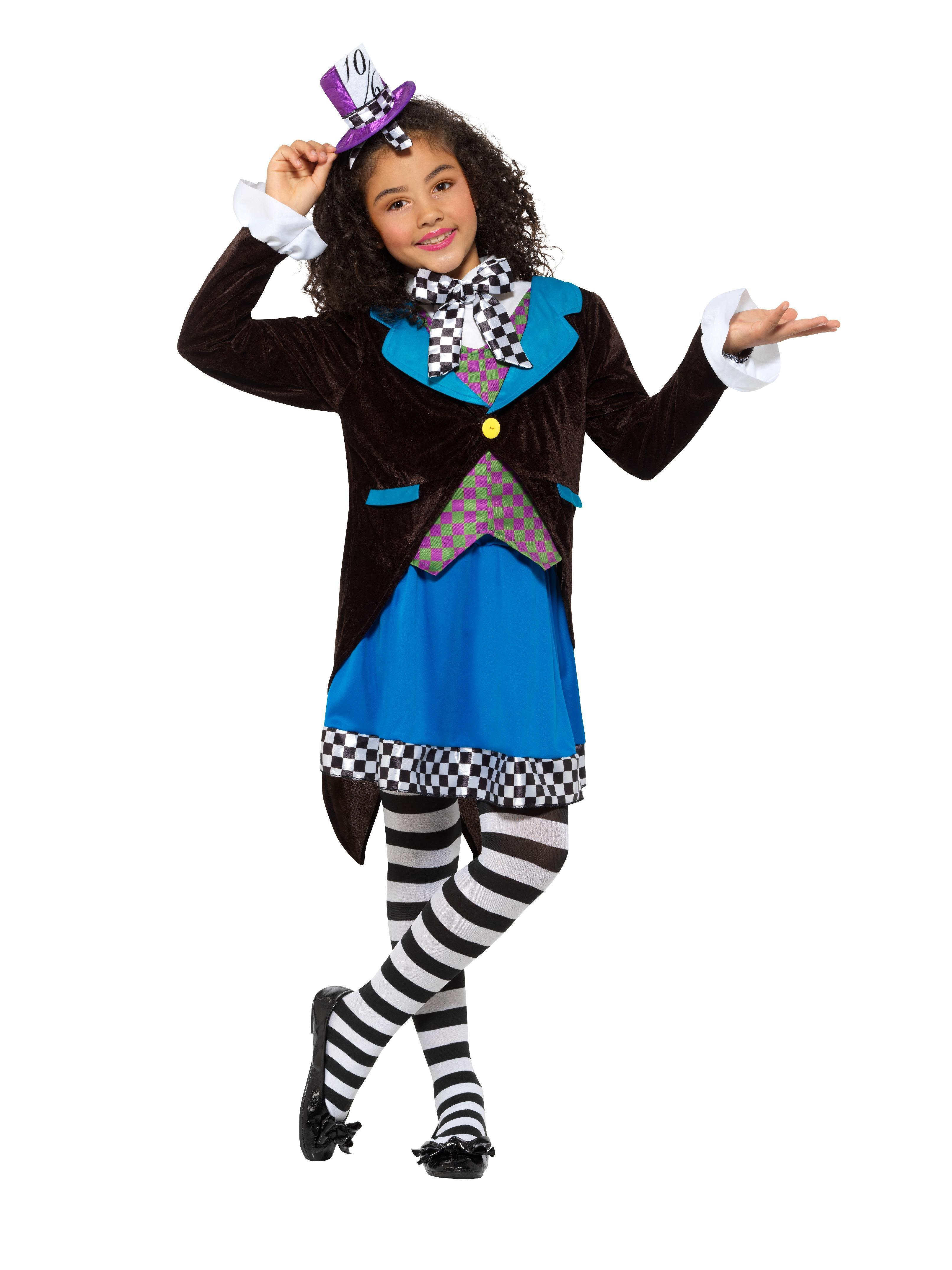 Kids Little Miss Hatter Costume