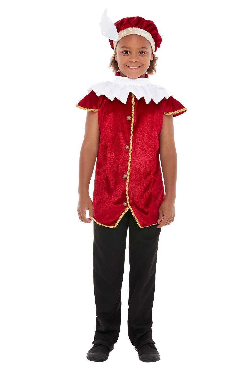 Kids Posh Tudor Kit Red