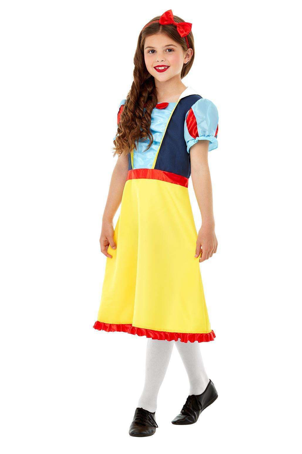 Kids Princess Snow Costume