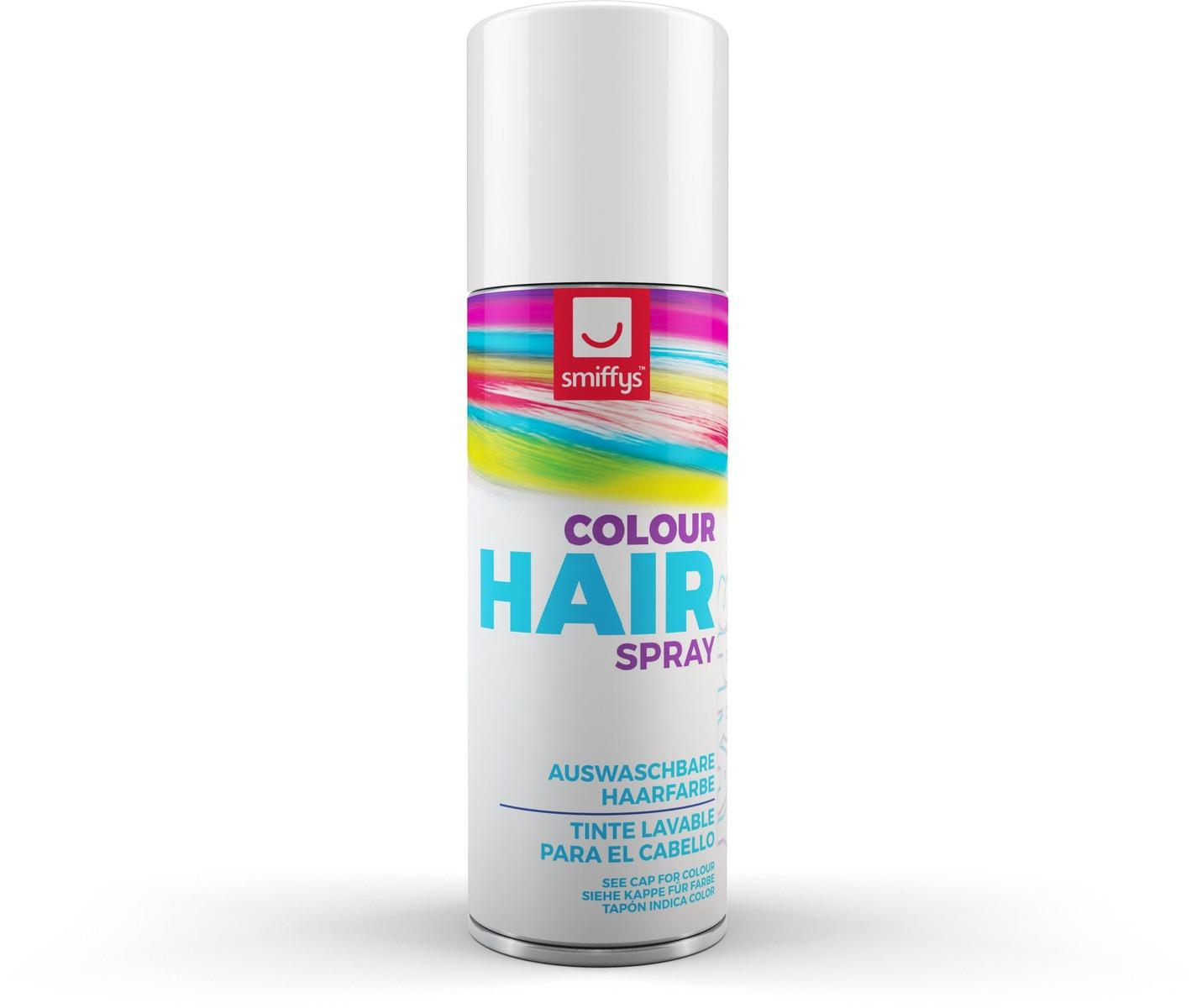 Coloured Hair Spray White