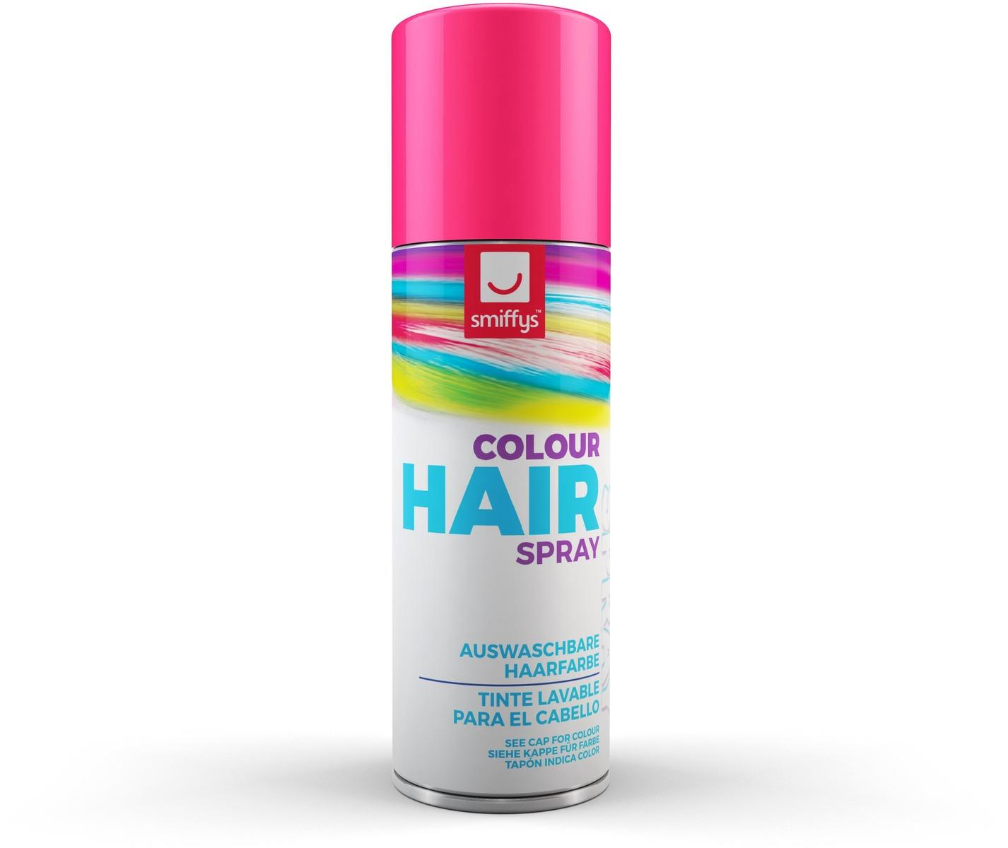 Coloured Hair Spray Pink