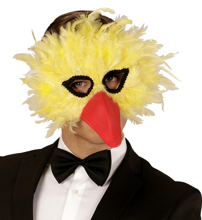 Yellow Bird Eye Mask