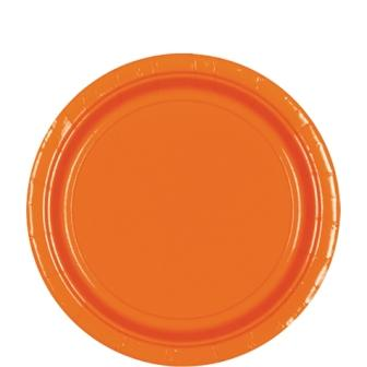 Paper Plates Orange Peel 8 Pack
