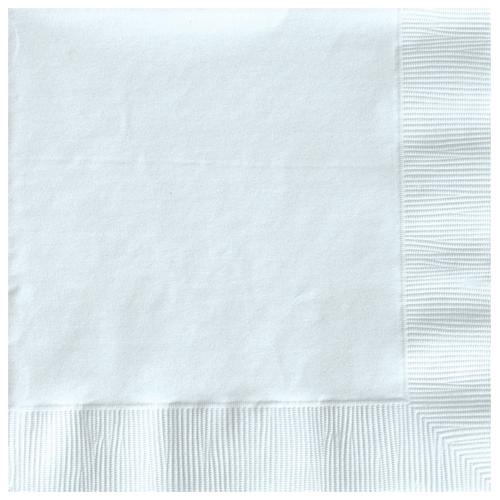 Paper Napkins Frosty White 20 Pack