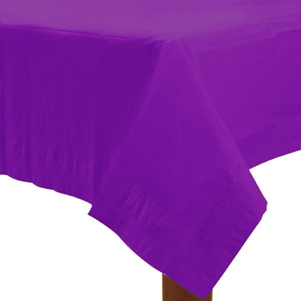 Table Cover New Purple Rectangle