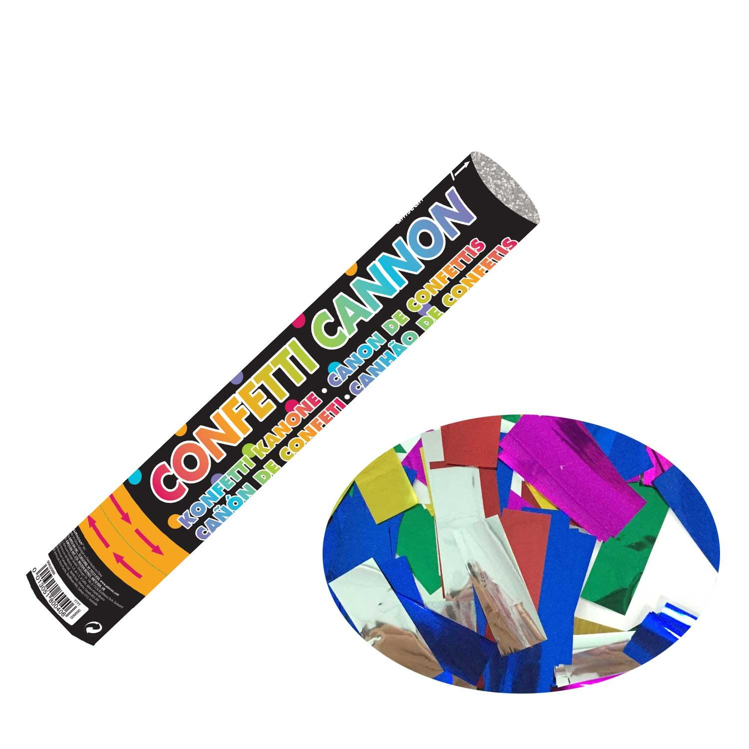 Confetti Cannon Multi-coloured Foil