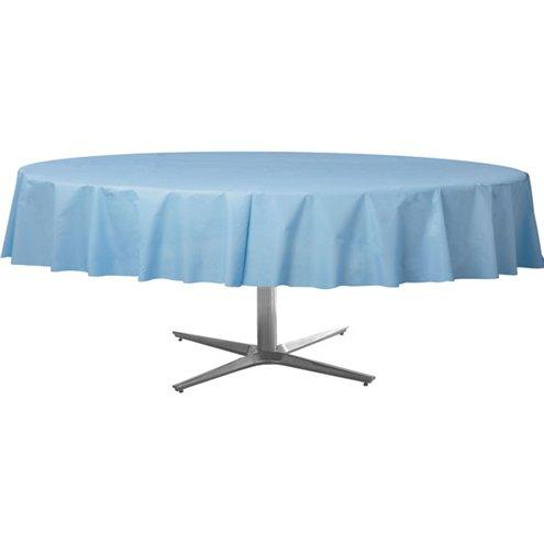 Table Cover Pastel Blue Round