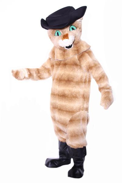 Puss in Boots Mascot Hire Costume