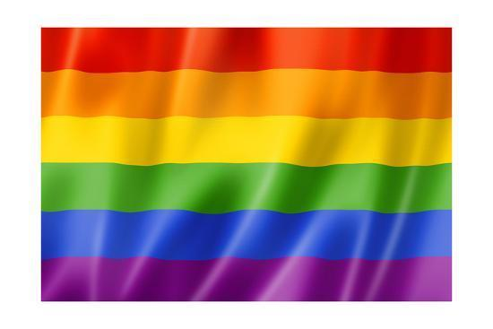 Large Flag Rainbow Pride