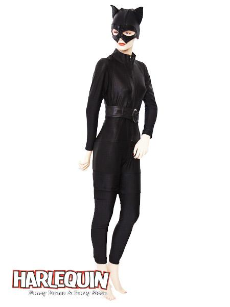 Cat Woman Style Hire Costume