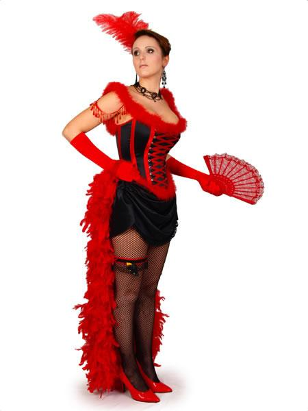 Moulin Rouge Hire Costume 2