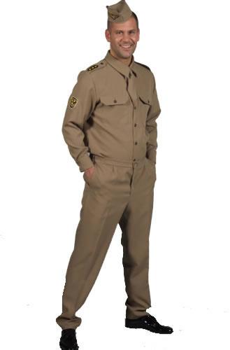 American G.I Hire Costume Mens