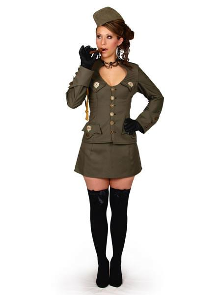 Sexy Army Lady Costume