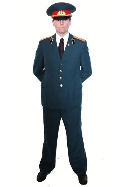 Russian Officer Hire Costume
