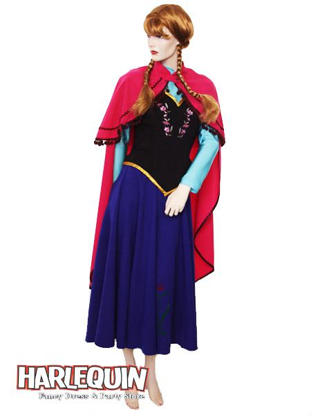 Anna Style Hire Costume