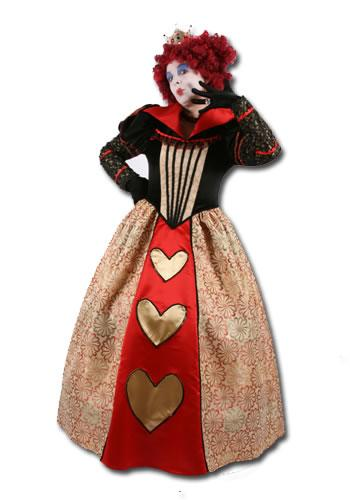 Queen of Hearts Hire Costume
