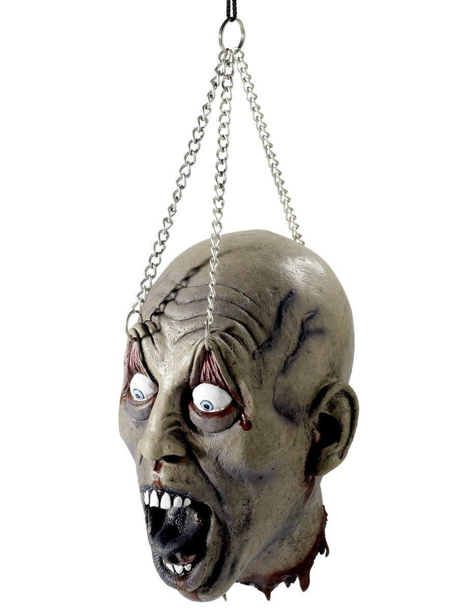 Dismembered Head Grey Latex