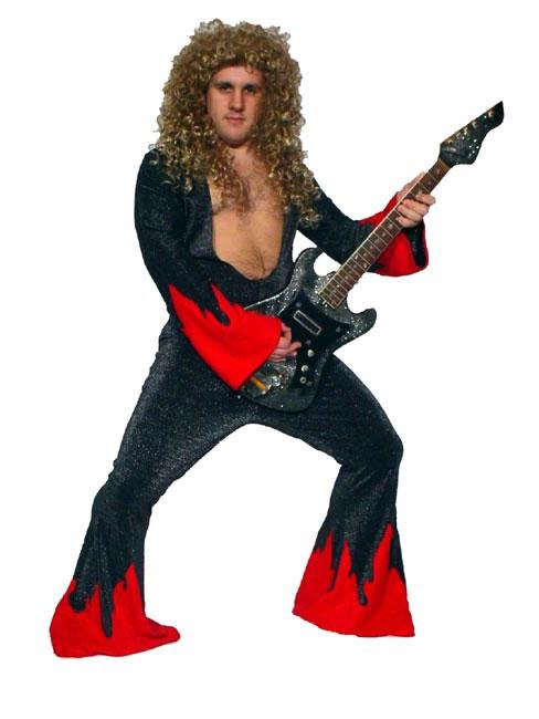 2000s The Darkness Red Hire Costume