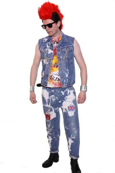 1970s Punk Man Hire Costume