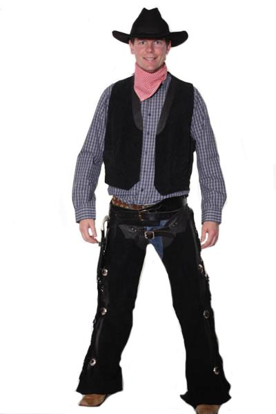 Cowboy Black Hire Costume