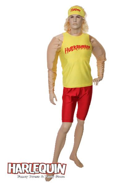 Hulk Hogan Hire Costume