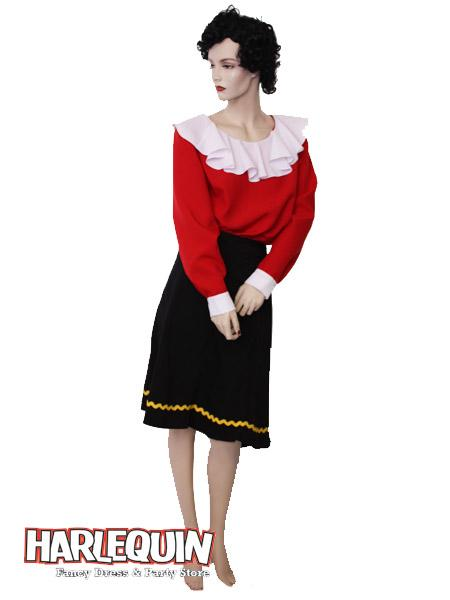 Olive Oyl Hire Costume