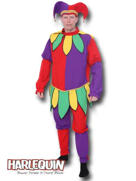 Jolly Jester Hire Costume