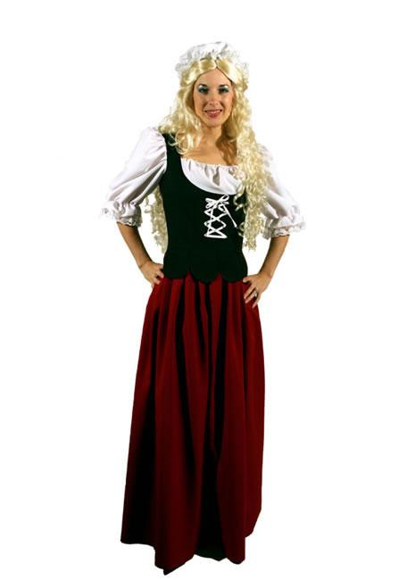 Medieval Wench 2 Hire Costume
