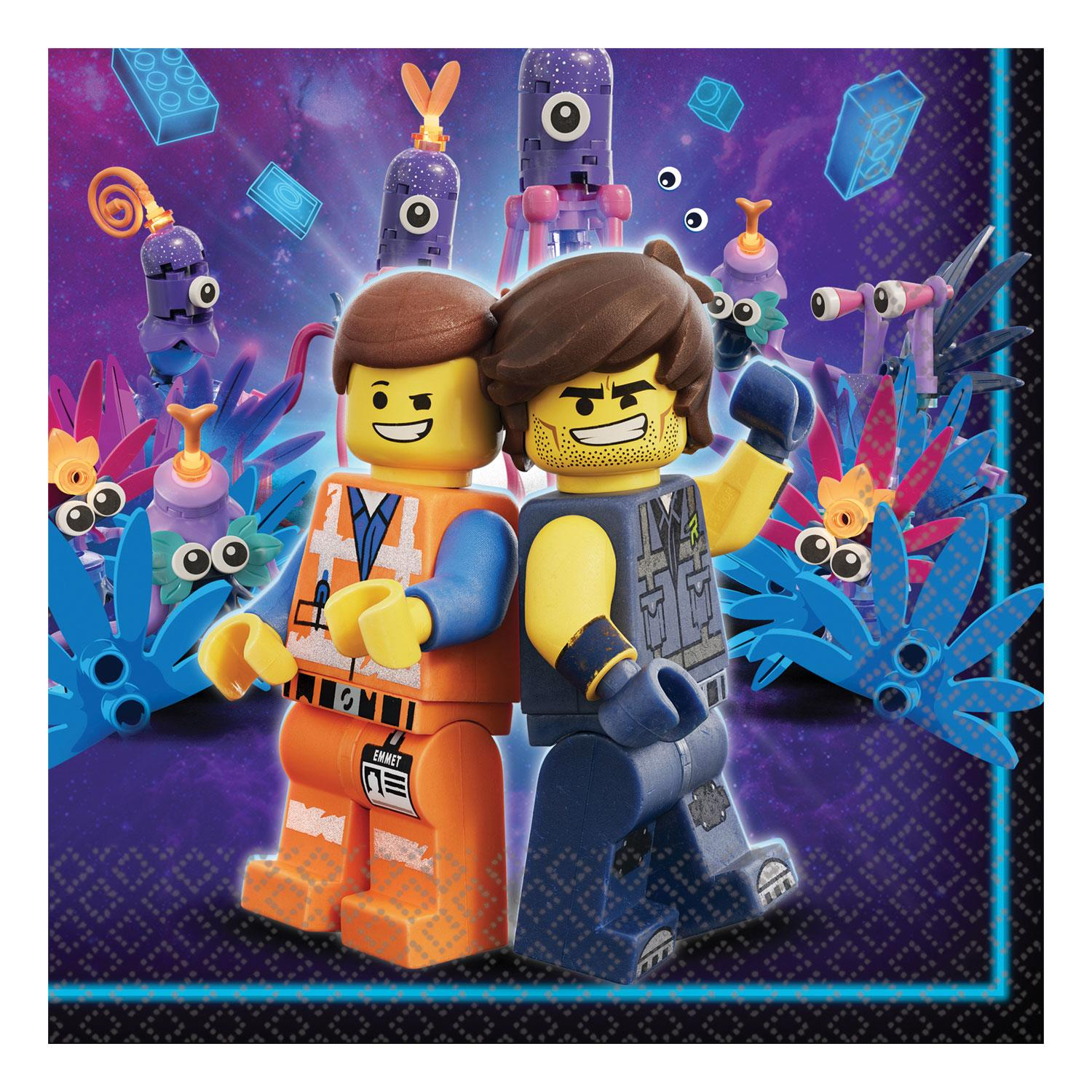 Paper Lunch Napkins Lego Movie 2