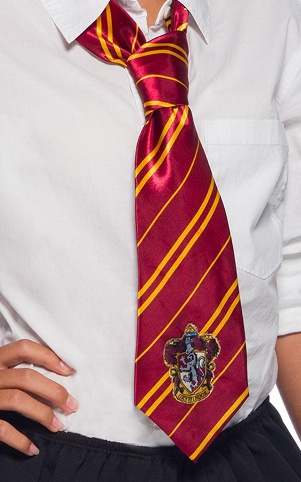 Harry Potter Deluxe Gryffindor Tie